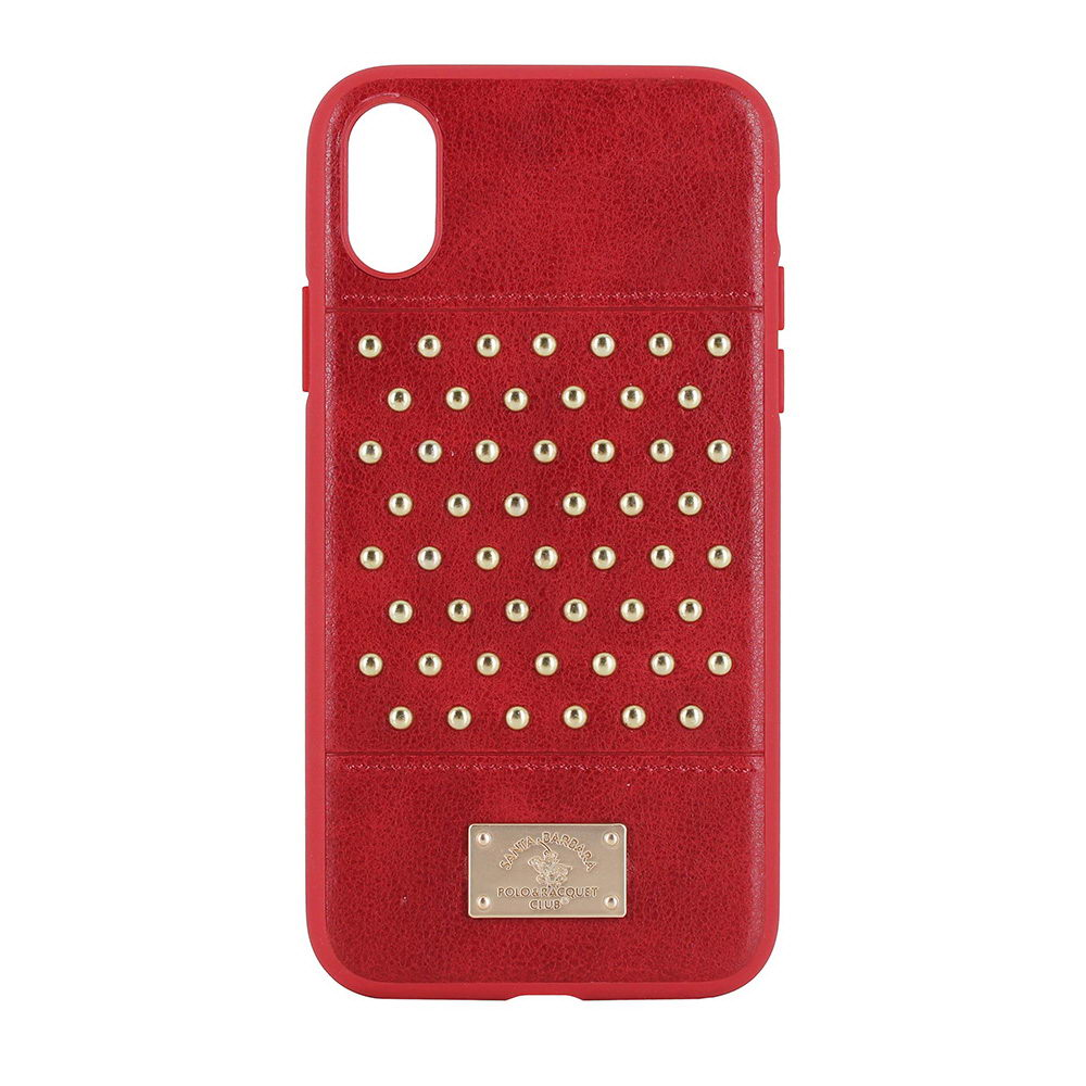 Polo Staccato For iPhone X/XS Red (SB-IPXSPSTA-RED)