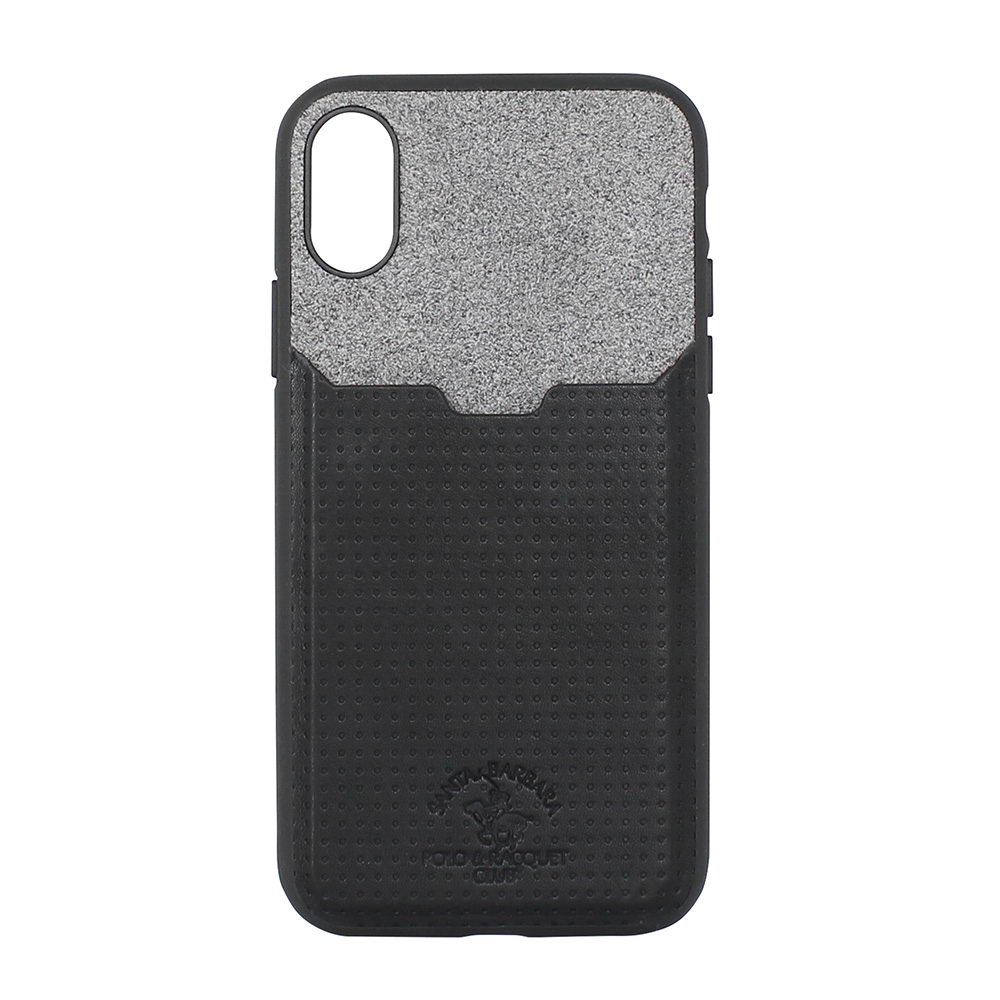 Polo Tasche For iPhone X/XS Black (SB-IPXSPPOC-BLK)
