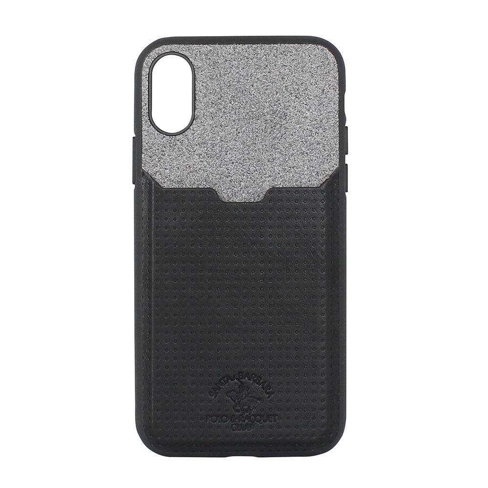Polo Tasche For iPhone X/XS Black (SB-IPXSPPOC-BLK)