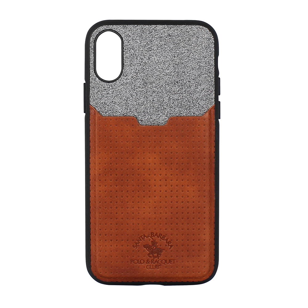 Polo Tasche For iPhone X/XS Brown (SB-IPXSPPOC-BRW)
