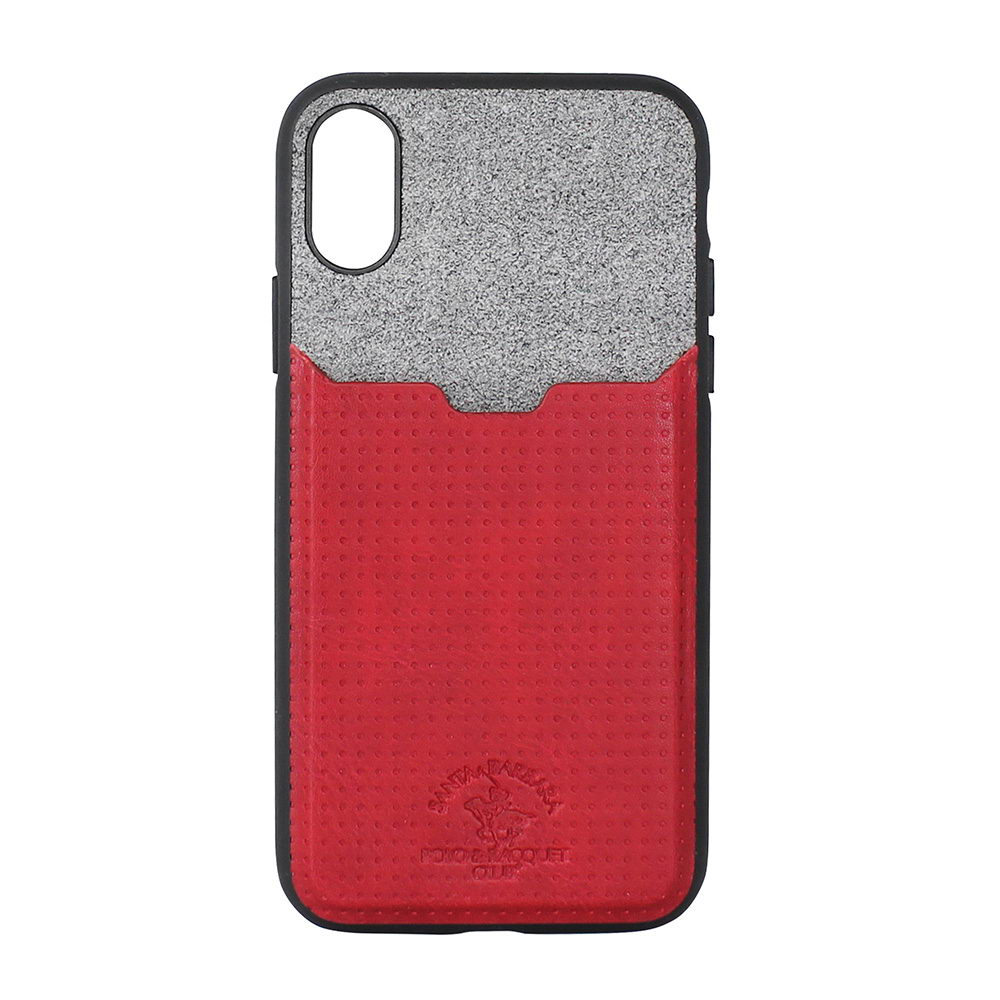 Polo Tasche For iPhone X/XS Red (SB-IPXSPPOC-RED)