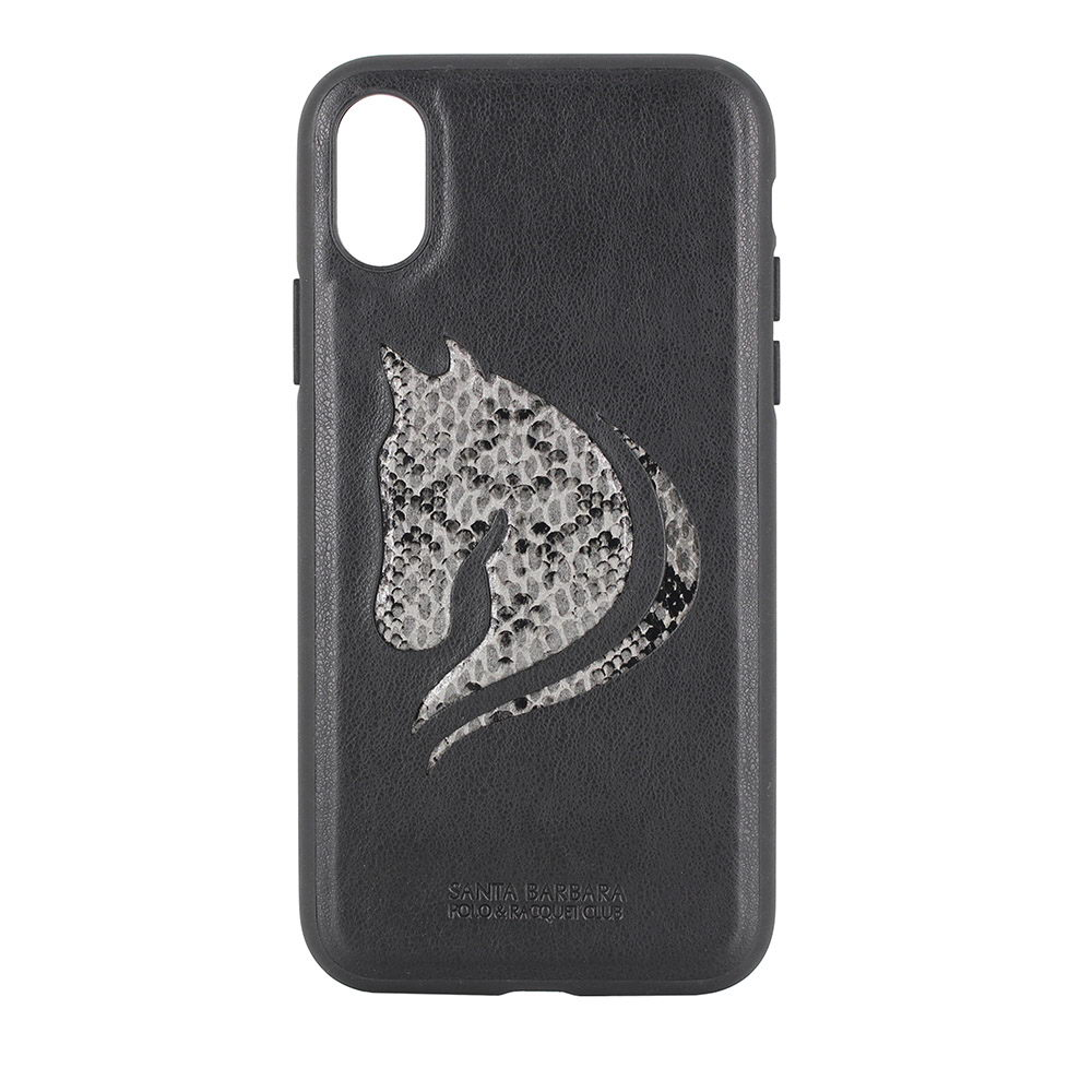 Polo Viscount For iPhone X/XS Black (SB-IPXSPHOR-BLK)