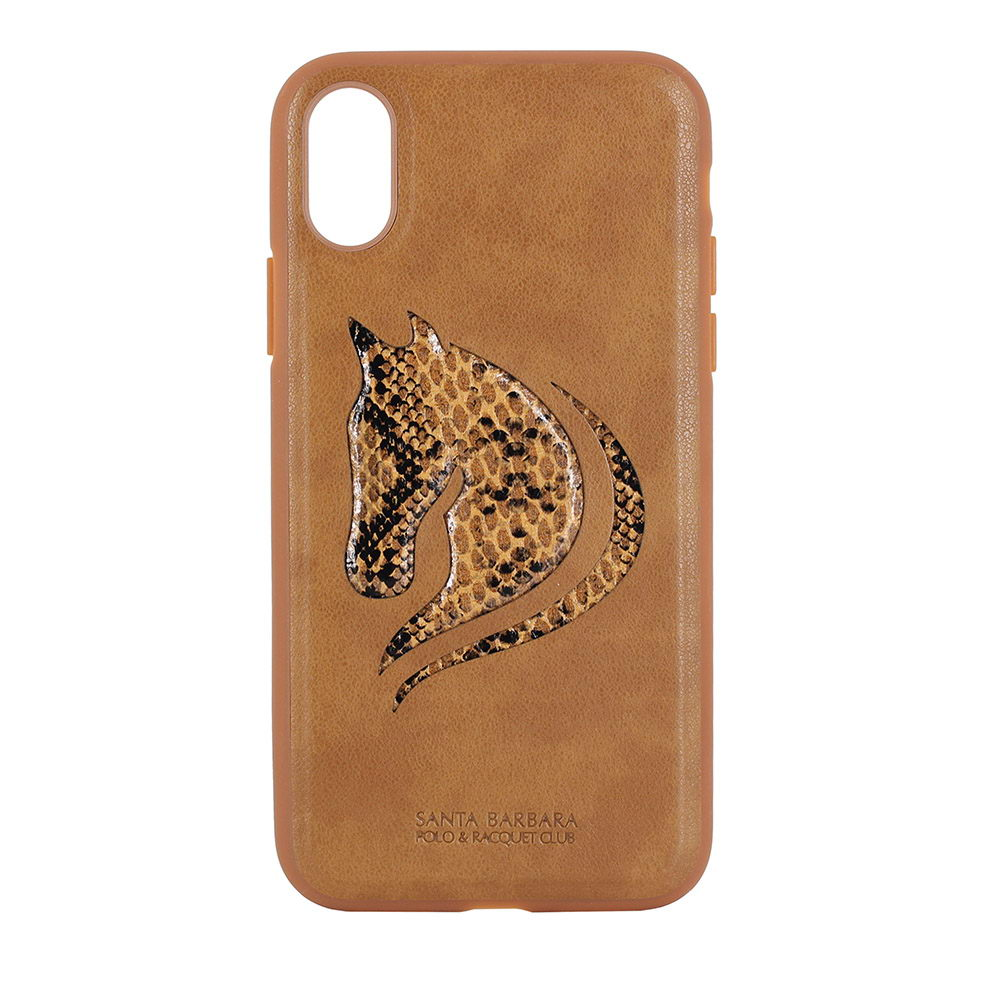Polo Viscount For iPhone X/XS Brown (SB-IPXSPHOR-BRW)