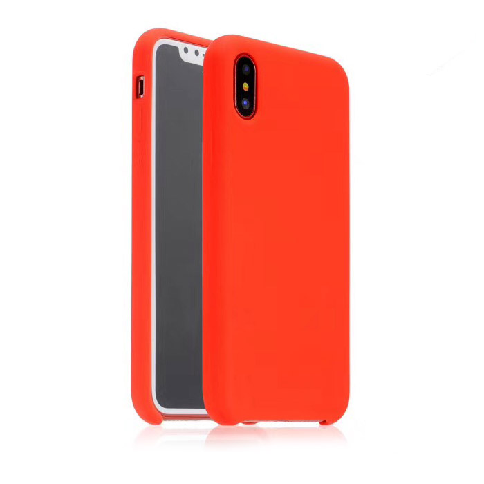 COTEetCI Silicon Case for iPhone X/XS Red (CS8012-RD)