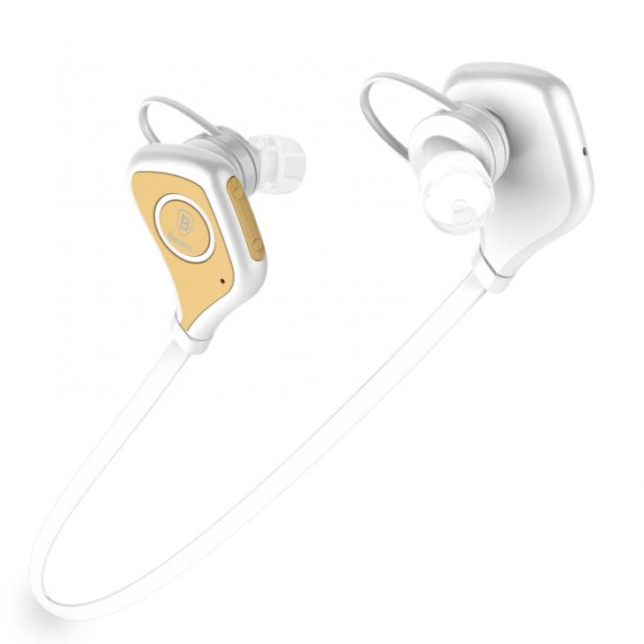 Baseus Musice Series Sport Bluetooth Headphone White/Gold