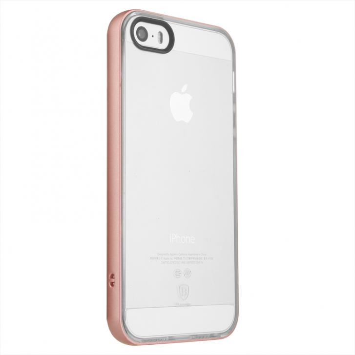 Baseus Soft Feather Series Case iPhone 5/5s/SE Rose Gold