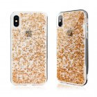 SwitchEasy Flash Case for iPhone X/XS Rose Gold Foil (GS-81-444-18)