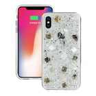 SwitchEasy Flash Case for iPhone X/XS Silver Seashell (GS-81-444-40)