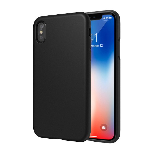 SwitchEasy numbers Case For iPhone X/XS Stealth Black 01