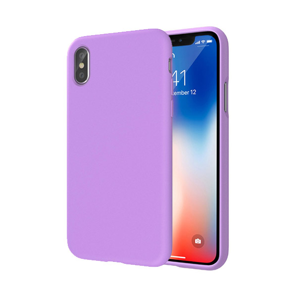 SwitchEasy numbers Case For iPhone X/XS Lilac 01