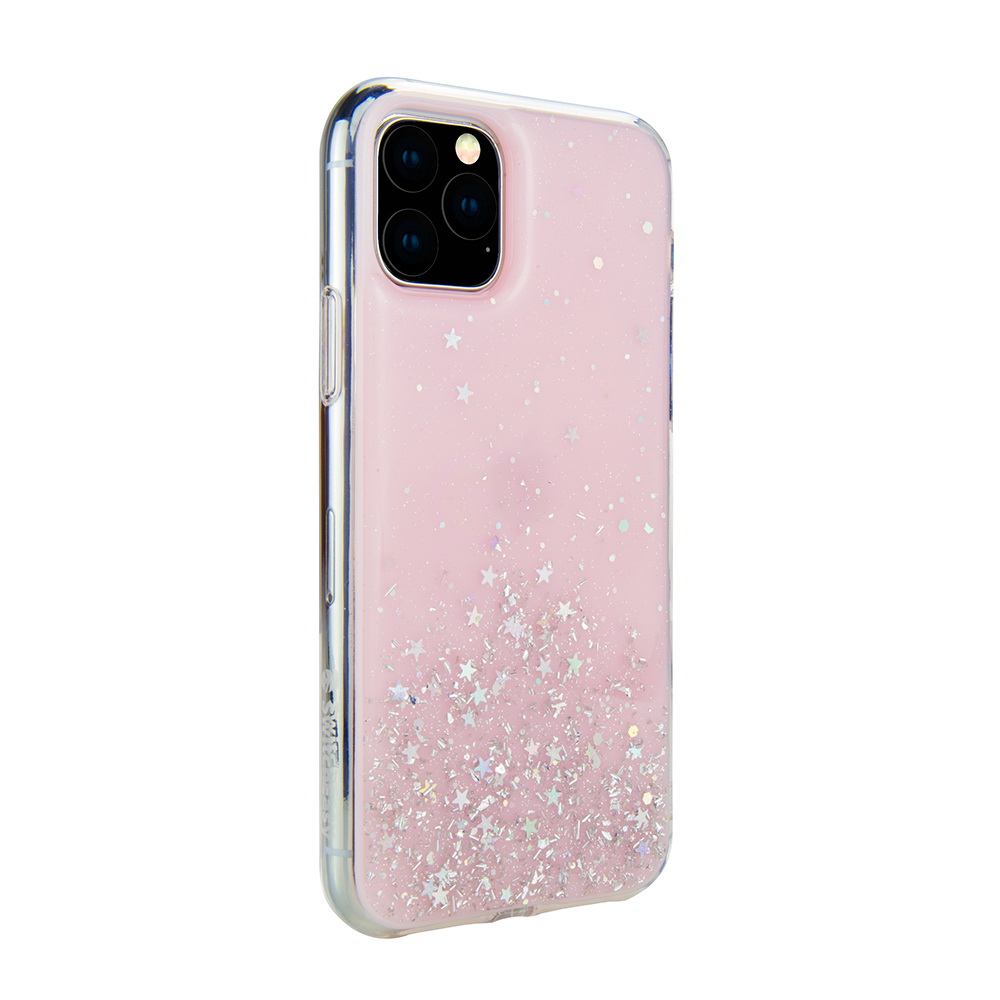 SwitchEasy Starfield For iPhone 11 Pro Transparent Rose (GS-103-80-171-61)
