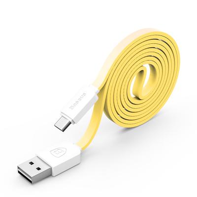 Baseus Micro USB String Cable 1M Yellow/White