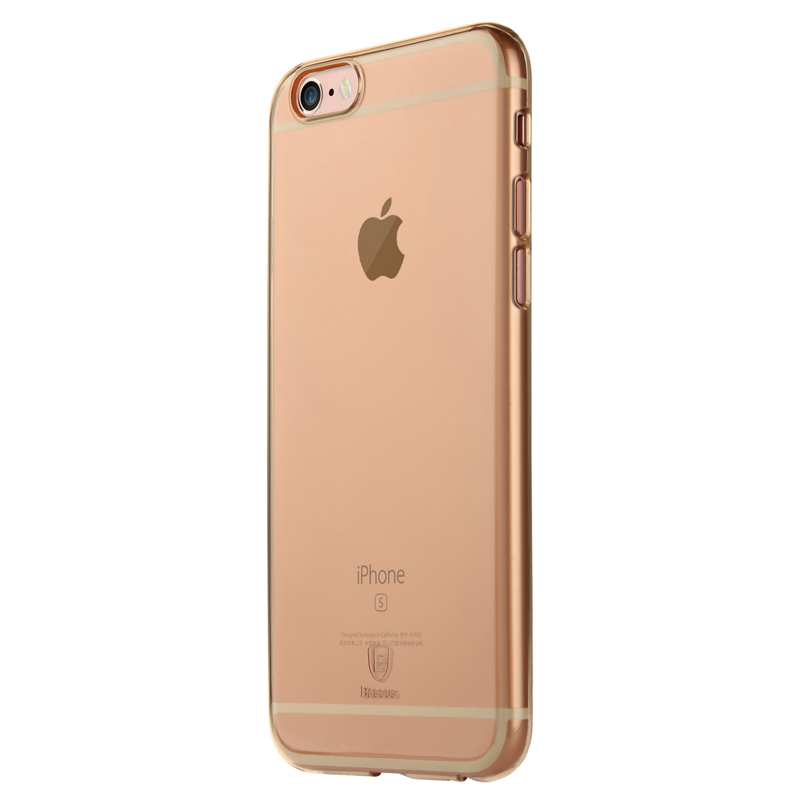 Baseus Clear Series case For iPhone 6/iPhone 6S Gold
