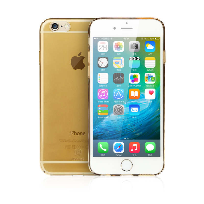Baseus Sky Case For iPhone6S Gold