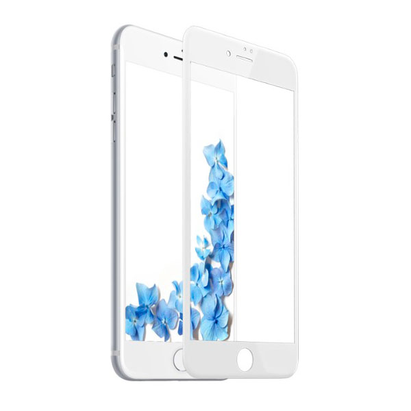 Baseus 0.2mm silk screen printed full-screen protector For iphone 7 plus White (SGAPIPH7P-ASL02)