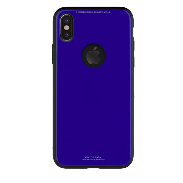 WK Azure Stone Case for iPhone X Dark Blue (WPC-051-BL)