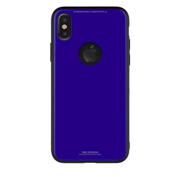 WK Azure Stone Case for iPhone X Dark Blue (WPC-051)