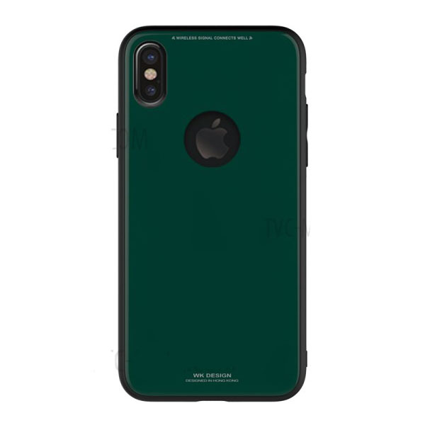 WK Azure Stone Case for iPhone X Dark Green (WPC-051)