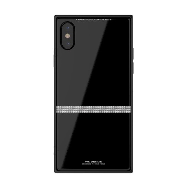 WK Cara Case for iPhone X Black (WPC-085)