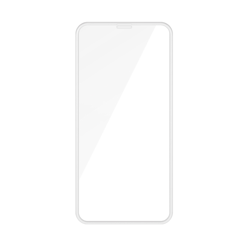 WK Black Panther Series Flex 4D Curved Tempered Glass White For iPhone 6/7/8 (HTP-001)