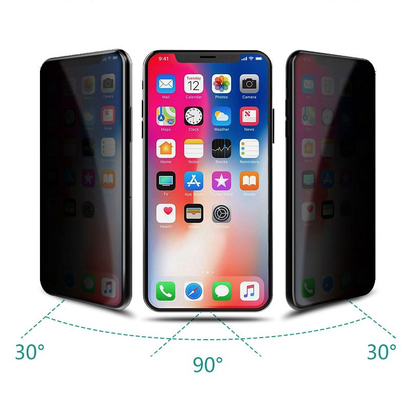 WK Design Kingkong 4D Curved Tempered Glass Privacy For iPhone X/XS/11 Pro (WTP-012)