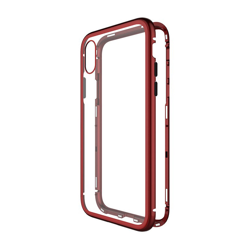WK Design Magnets Case For iPhone XR Red (WPC-103)