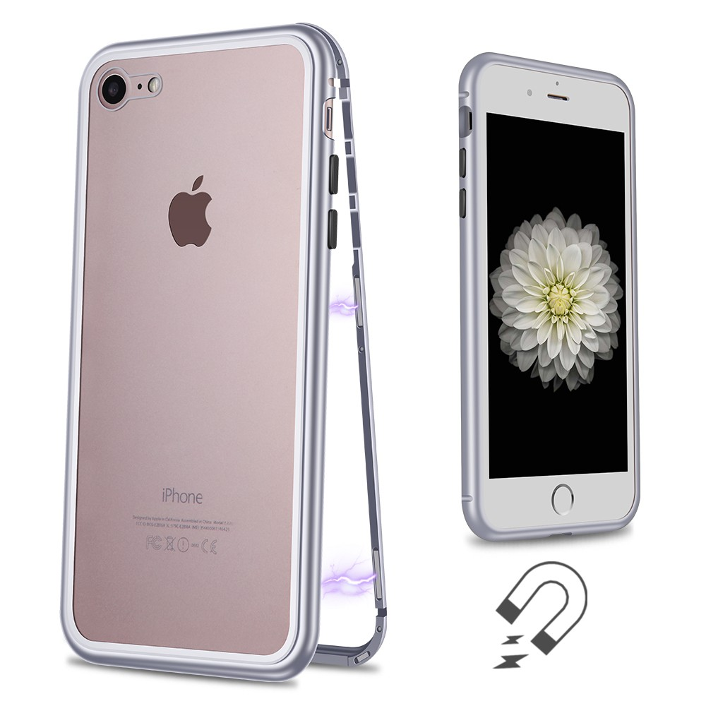 WK Design Magnets Case For iPhone 7/8/SE 2020 Silver (WPC-103)