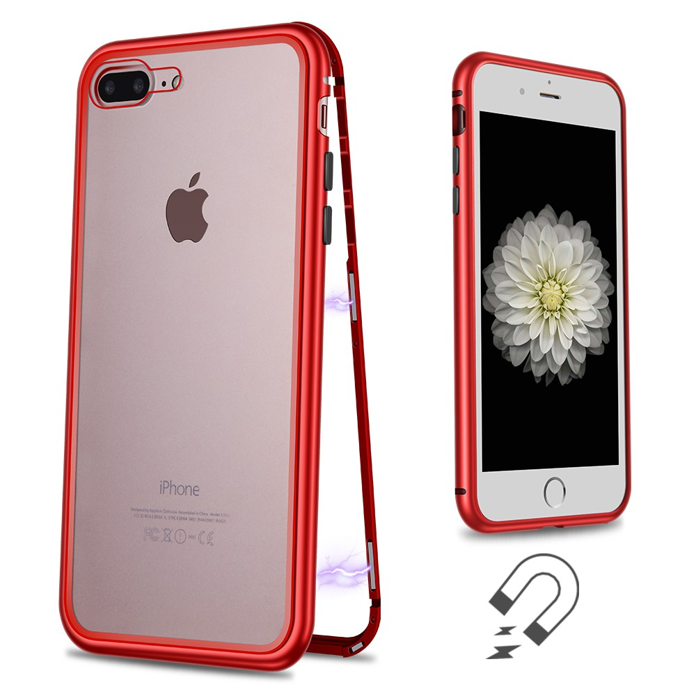 WK Design Magnets Case For iPhone 7 Plus/8 Plus Red (WPC-103)