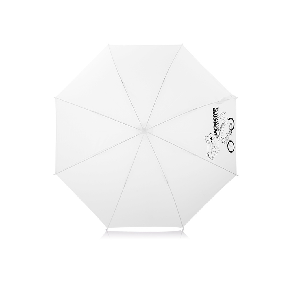 WK Design Safe Children Umbrella White (WT-U6)