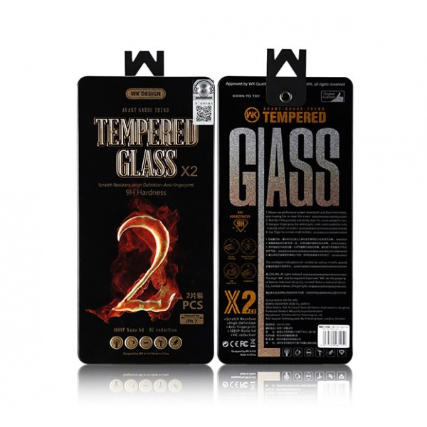 WK Kylin Transparent Tempered Glass for iPhone X Transparent (WTP-004)