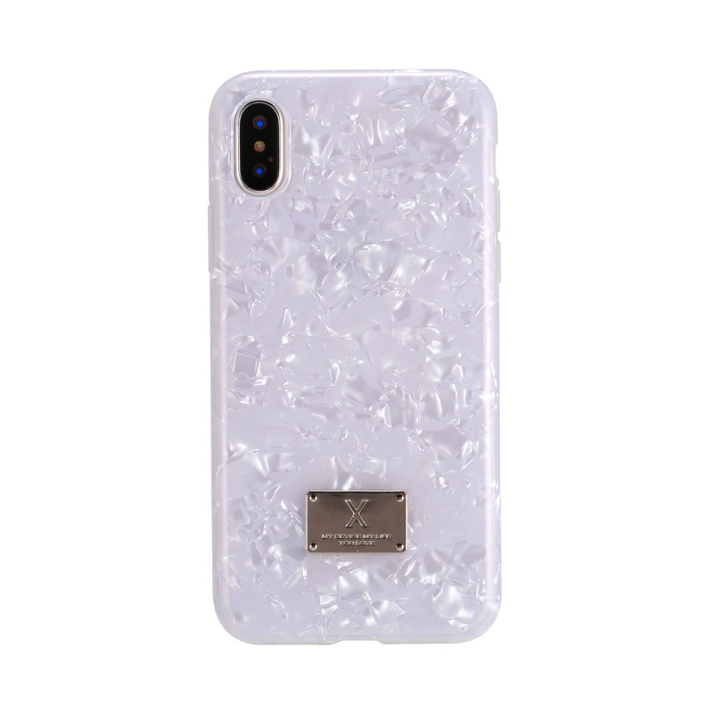 WK Shell Case White For iPhone X