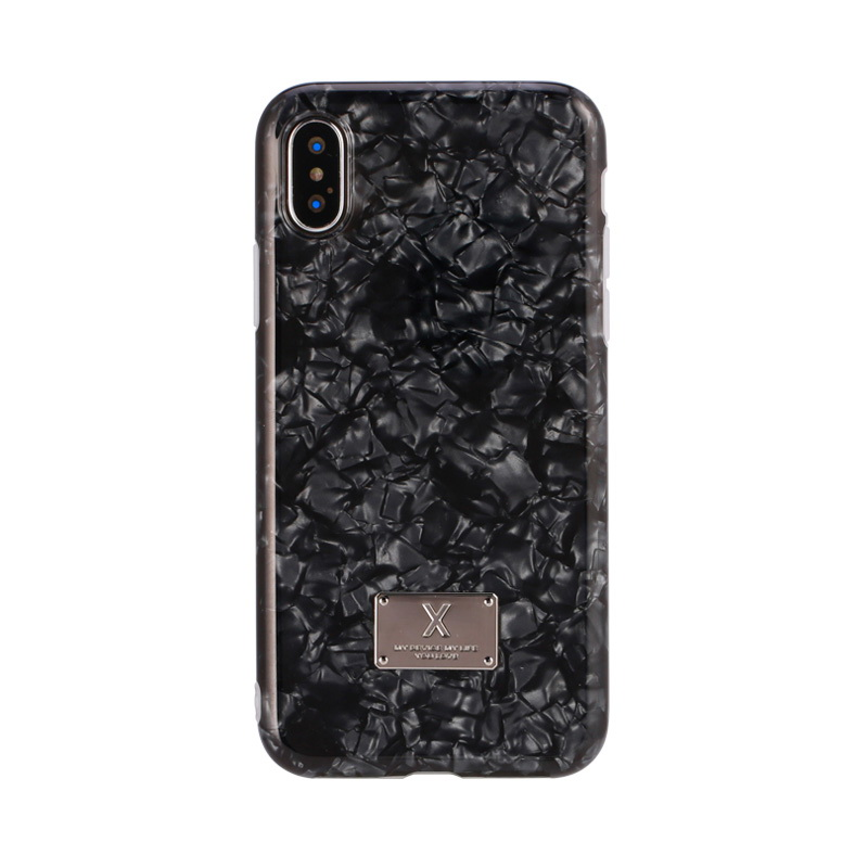 WK Shell Case Black For iPhone 8/7/SE 2020