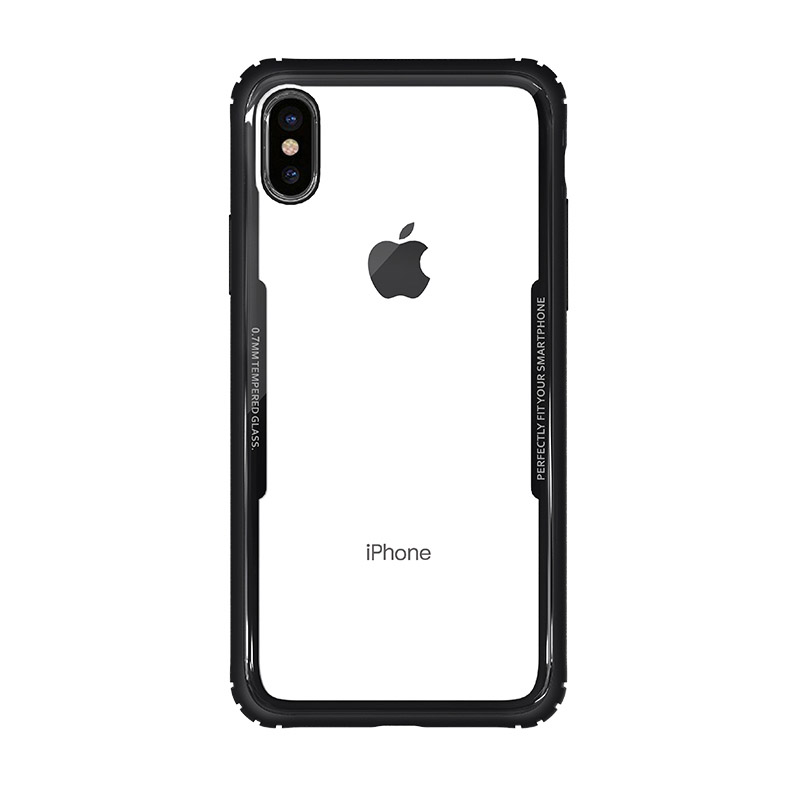 WK Shield Case for iPhone X Black (WPC-086)