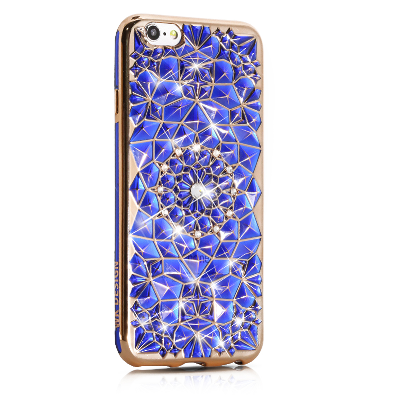 WK SunFlower Blue Case for iPhone 7 Plus (WPC-008-7PBL)