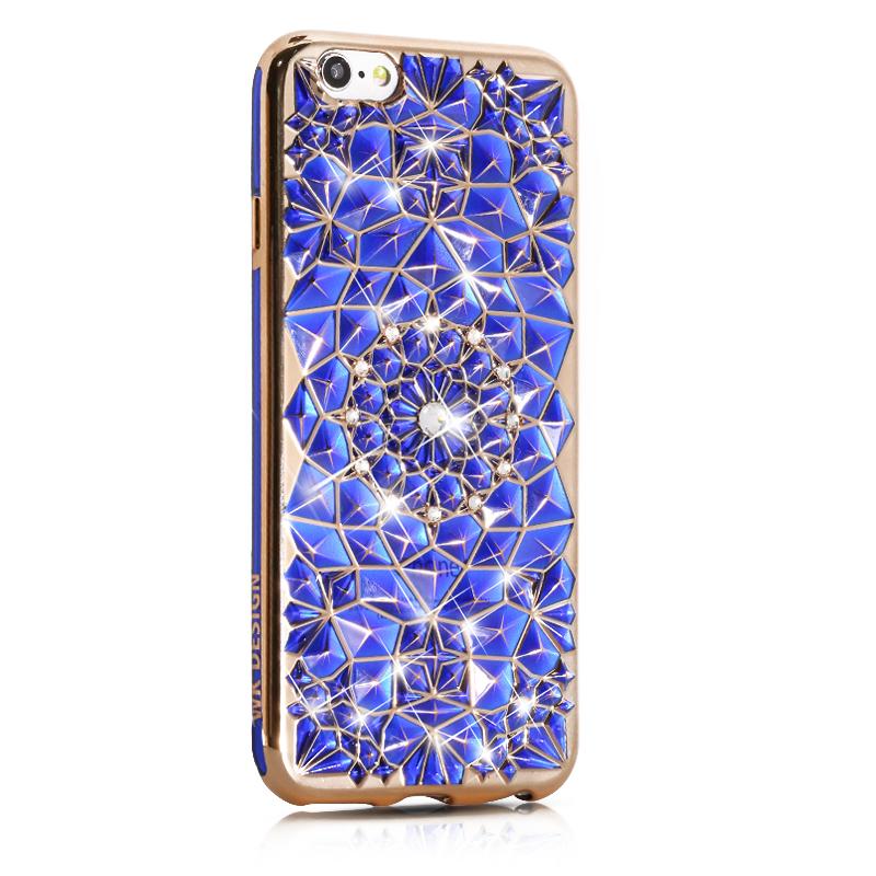 WK SunFlower Blue Case for iPhone 7/8/SE 2020 (WPC-008-SEBL)