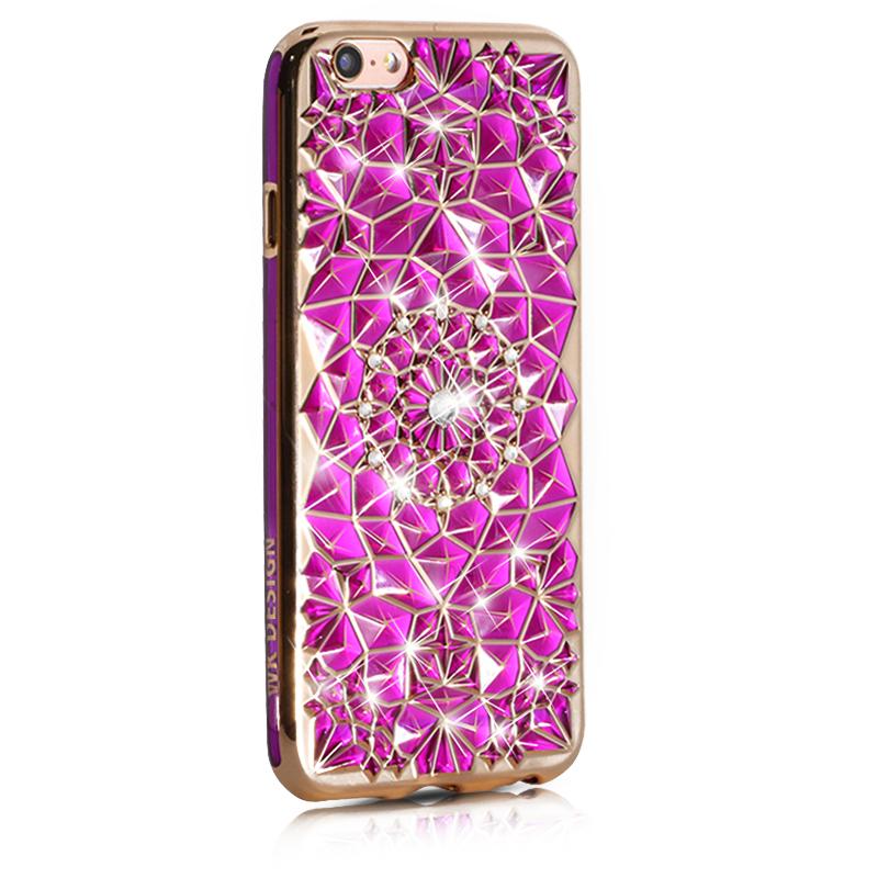 WK SunFlower Purple Case for iPhone 7/8/SE 2020