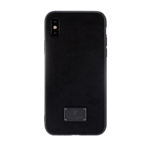 WK Velvet Case for iPhone X Black (WPC-081)