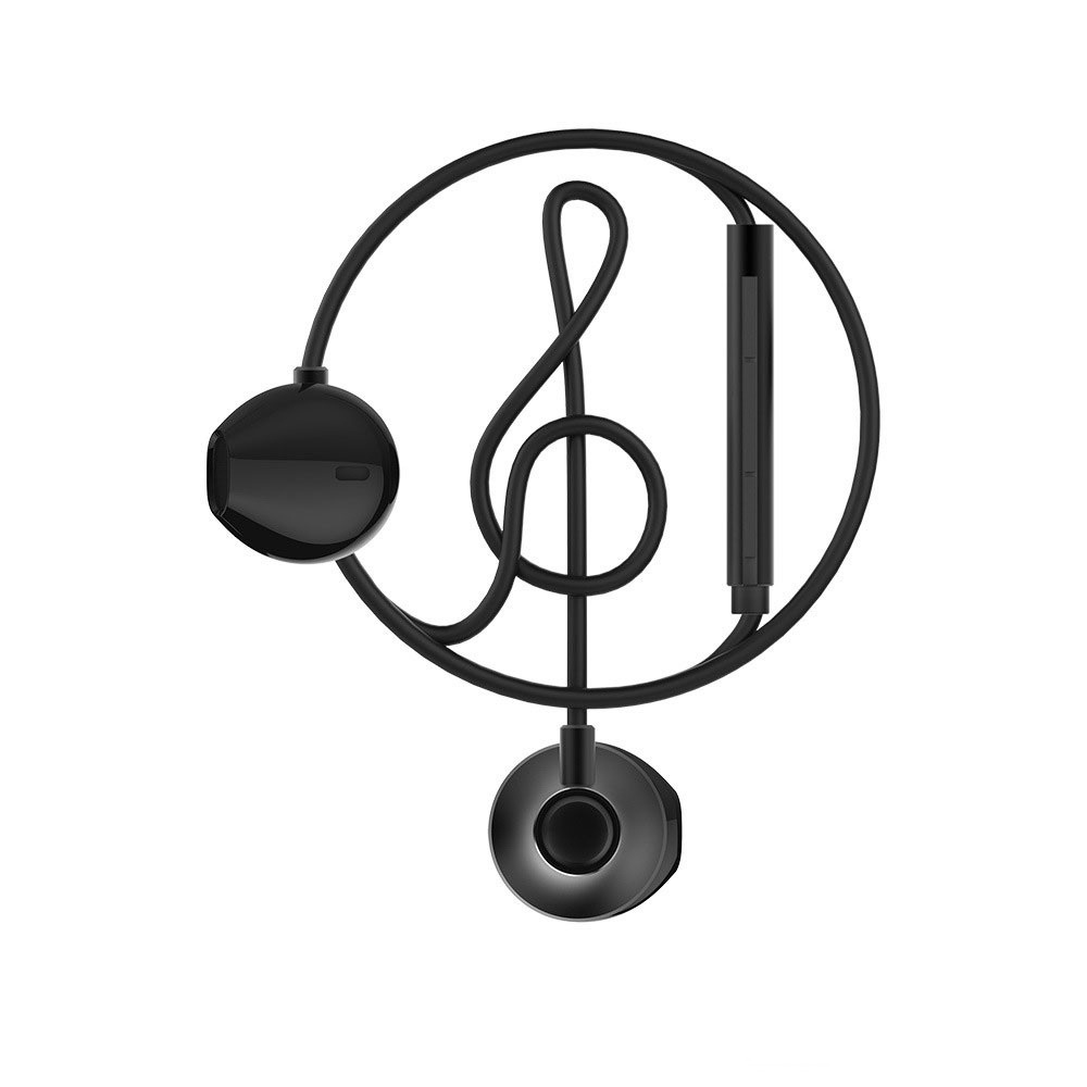 WK Wired Earphone Black (WE300)