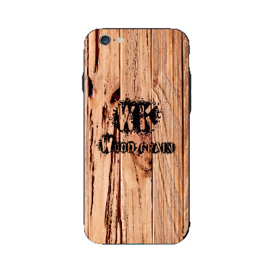 WK Wood Grain (CL441) Case for iPhone 6/6S Brown