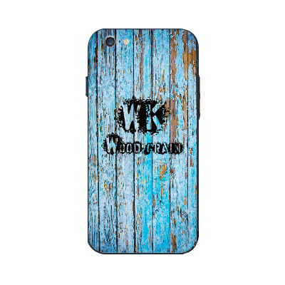 WK Wood Grain (CL443) Case for iPhone 6/6S Blue