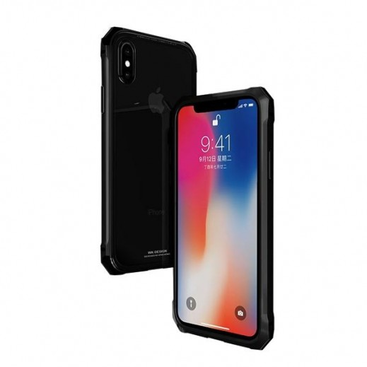 WK Tikin Case for iPhone X Black (WPC-082)