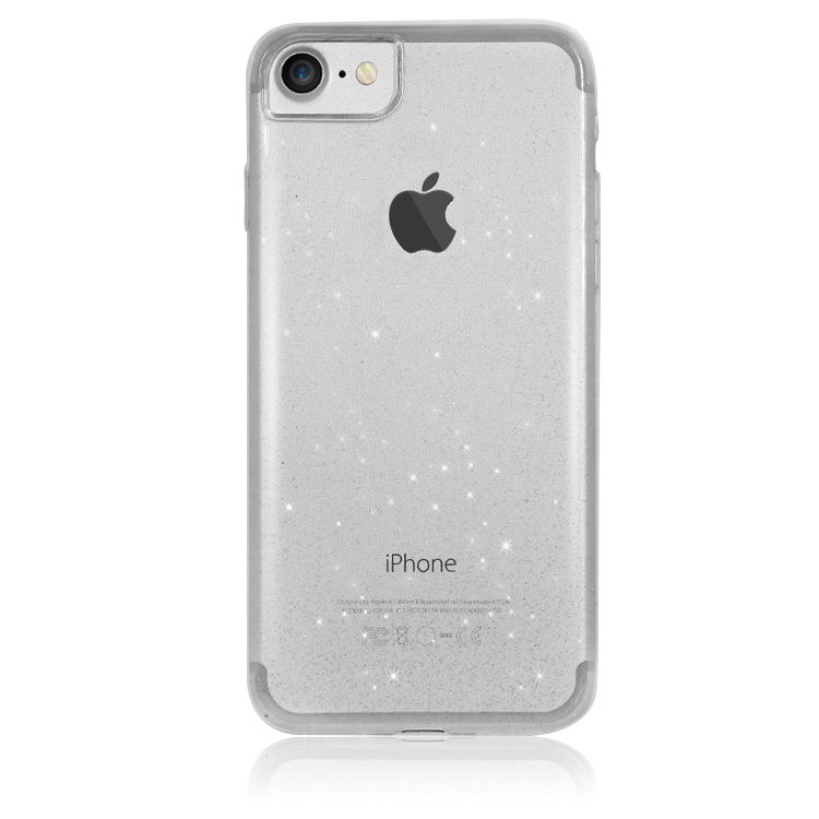 WK Firefly case for ip 7/8/SE 2020 (bling-bling TPU) clear