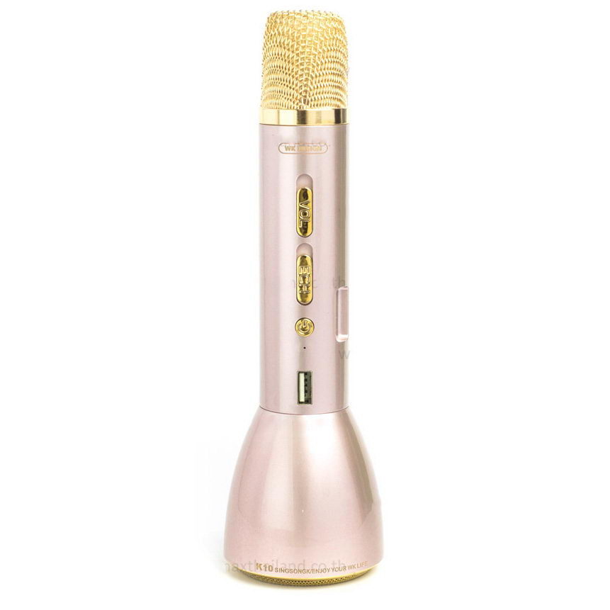 WK Microphone & Speaker (2 in 1) gold